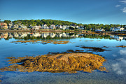 Boothbay Harbor Print by Ron St Jean