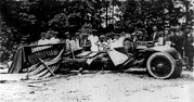 Car Crash Photos - Bootlegging And Prohibition by Everett