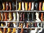 West Texas Photos - Boots for You by Chuck Taylor