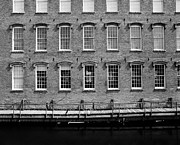 Mills Photo Originals - Boott Mills Water by Jan Faul