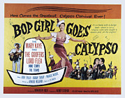 Bop Framed Prints - Bop Girl Goes Calypso, Aka Bop Girl Framed Print by Everett