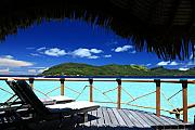 Bora Bora Photos - Bora Bora Bliss by Owen Ashurst