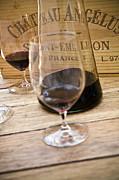 Bordeaux Wine Tasting Print by Frank Tschakert