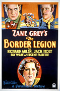 Moustache Prints - Border Legion, Richard Arlen, Jack Print by Everett