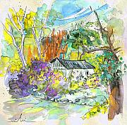 South Of France Mixed Media - Borderes sur Echez 02 by Miki De Goodaboom
