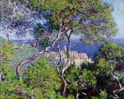 Coastal Art - Bordighera by Claude Monet