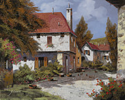 Landscapes Art - Borgogna by Guido Borelli