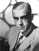 Publicity Shot Photos - Boris Karloff, Ca 1940s by Everett