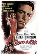 Jbp10ma21 Prints - Born To Kill, Claire Trevor, Walter Print by Everett