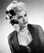 1950 Movies Acrylic Prints - Born Yesterday, Judy Holliday, 1950 Acrylic Print by Everett