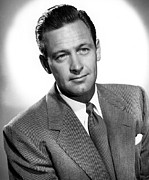 1950 Movies Photo Posters - Born Yesterday, William Holden, 1950 Poster by Everett