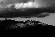 Desert Landscape Prints - Borrego Clouds Print by Peter Tellone