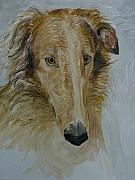Hounds Originals - Borzoi pup by Phillip Dimor