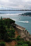 Built Photos - Bosphorus, Istanbul, Turkey by Hulya Ozkok