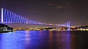 Urban City Areas Photos - Bosporus Blue by Kantilal Patel
