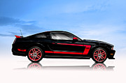 Custom Ford Metal Prints - Boss Mustang Metal Print by Douglas Pittman