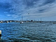 Boston Harbor Photos - Boston 002 by Lance Vaughn