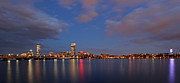 Charles River Photo Prints - Boston at Twilight Print by Juergen Roth