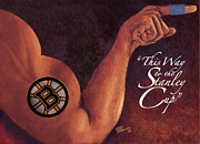 Penn State University Art - Boston Bruins - This Way To The Stanley Cup by Jean-Marie Poisson