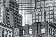 Boston Building Facades II Print by Clarence Holmes
