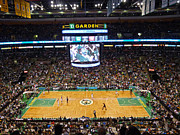 Nba Framed Prints - Boston Celtics Framed Print by Juergen Roth