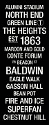 Baldwin Posters - Boston College College Town Wall Art Poster by Replay Photos