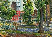 Charles Demetropoulos - Boston Commons at Park...