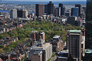 Boston Ma Prints - Boston Massachusetts Print by Mike Martin