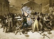 Alonzo Posters - Boston Massacre, 1770 Poster by Photo Researchers