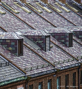 Boston Digital Art Metal Prints - Boston Rooftops Metal Print by Bill
