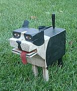 Pets Sculptures - Boston Terrier by Timothy Campbell