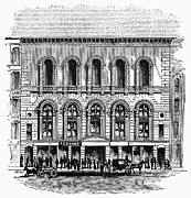 Outdoor Theater Prints - Boston: Tremont Temple Print by Granger