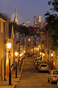 Juergen Roth Framed Prints - Boston View from Charlestown Framed Print by Juergen Roth