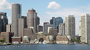 Massachusetts - Boston Waterfront 1 by Kathy Dahmen