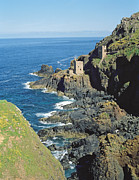Ruins Metal Prints - Botallack Mine Metal Print by Botallack Mine