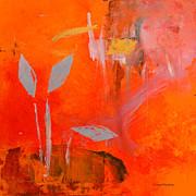 Botanica 1 Print by Linda Krukar