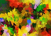 Flowers - Botanical Fantasy 110512 by David Lane