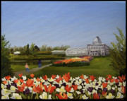 Edward Williams Art - Botanical Garden-Lewis Ginter by Edward Williams