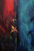 Couples Paintings - Botany of Desire by Lucy West