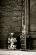 Spirits Photo Acrylic Prints - Bottle of Bygone Acrylic Print by Staci-Jill Burnley