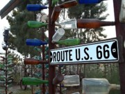 Glenn Mccarthy Posters - Bottle Trees Route 66 Poster by Glenn McCarthy Art and Photography