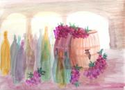 Wine Barrel Paintings - Bottle your own  by Harry Gray Jr