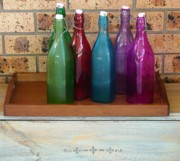 Coloured Originals - Bottles and Bricks by Adrianne Wood