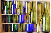 Wine Deco Art Photo Framed Prints - Bottles Framed Print by Rees Gordon