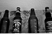 Three Stooges Photos - Bottles by Roxanne Colvin