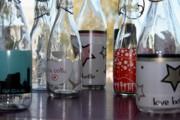 Bottles Print by Tanja Hymel