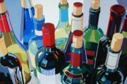 Virginia Wine Art Prints - Bottlescape Print by Christopher Mize