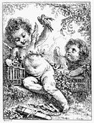 Boucher Framed Prints - Boucher: Cherubim Framed Print by Granger