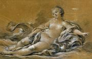 Boucher Framed Prints - Boucher: Venus Framed Print by Granger