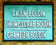 Crawfish Art - Boudin by Lizi Beard-Ward